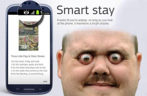 funciones absurdas de los smartphones smart stay