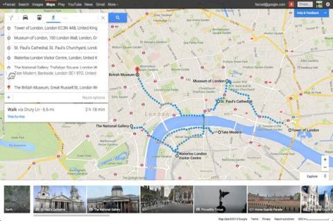 Nuevo Google Maps reintroduce trazado de rutas con destinos múltiples