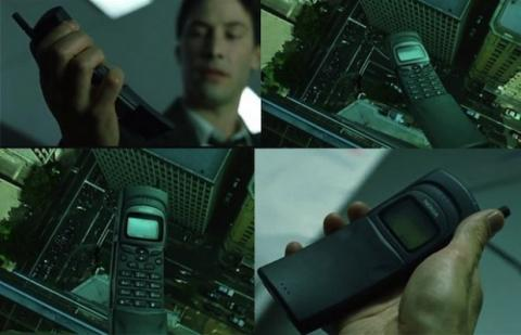 los mejores teléfonos ficticios del cine y la televisión nokia 8110 Matrix