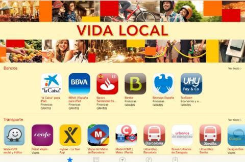 Vida Local, nueva sección de apps españolas en la App Store