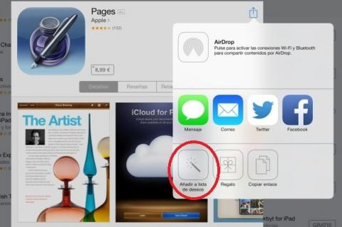Lista de Deseos App Store