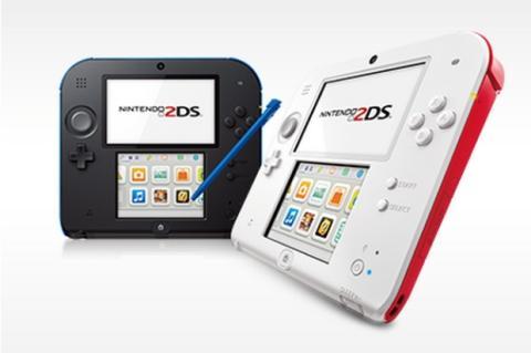 La consola portátil Nintendo 2DS, ya a la venta en España