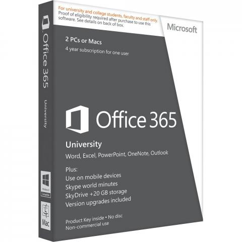 Office 365 gratuito para universitarios