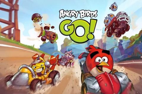 Angry Birds Go, el nuevo título de la saga para Diciembre