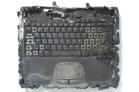 Ordenador quemado
