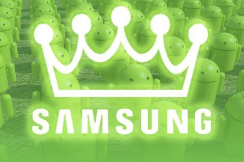 Samsung el rey indiscutible de Android
