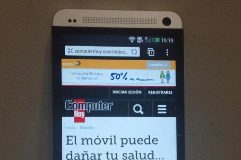 Pantalla HTC One