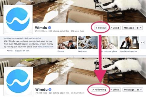 "Nuevo botón de FacebooK: ""Follow"" (Seguir)"
