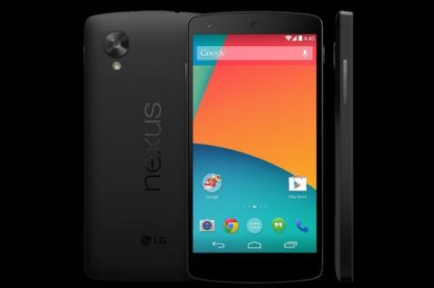 Nexus 5 aparece en Google Play, foto oficial y precio