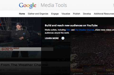 Google Media tools, pack de herramientas para periodistas