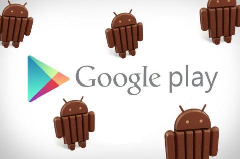 Filtran imágenes de nueva versión 4.4 del Google Play Store