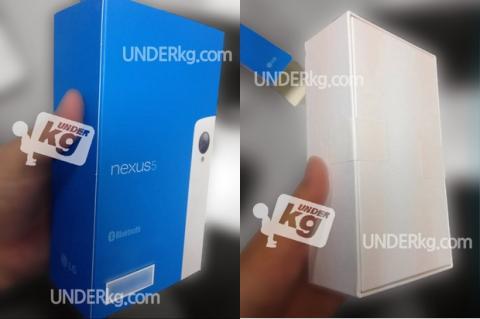 Se filtra la caja y el embalaje del smartphone Nexus 5 blanco