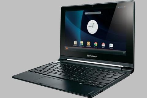 Lenovo A10, un portátil con Android