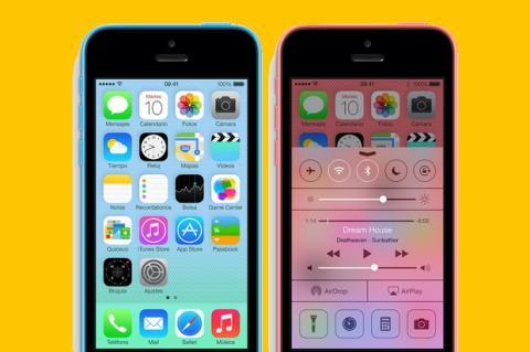 La fabricación del iPhone 5C se frena un 35%, mientras la del iPhone 5S baja un 75%