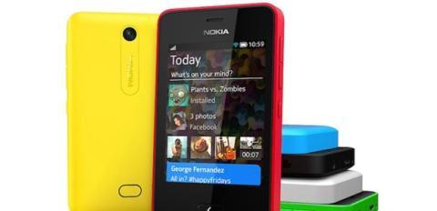 Gama Nokia Asha