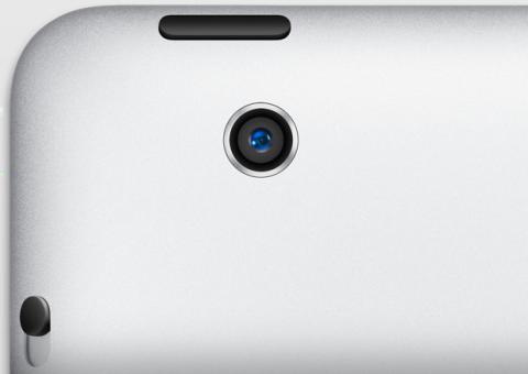 cámara iPad