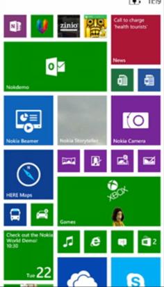 Lumia 1520 introduce una tercera columna para Live tile