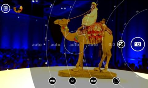 El modo pro camera permite configurar la cámara a tu gusto