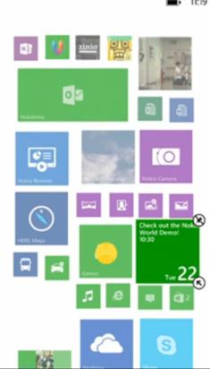 Nokia Lumia 1520 introduce una tercera columna de Live tiles en pantalla de inicio
