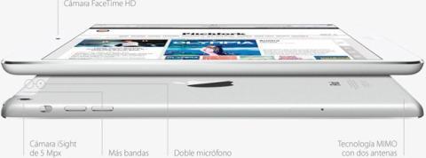 iPad Mini Retina Cámara