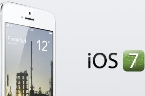 iOS 7 en iphone 5s