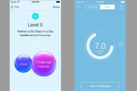 Fitly, una app de salud y deportes exclusiva para el iPhone 5S