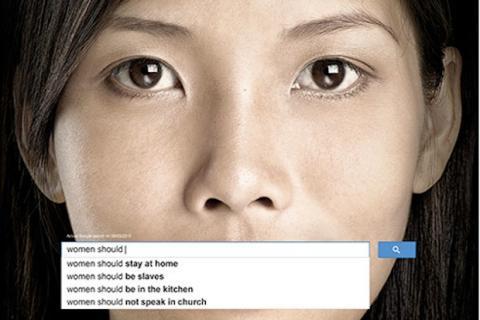 La ONU lanza una campaña contra el sexismo en Google