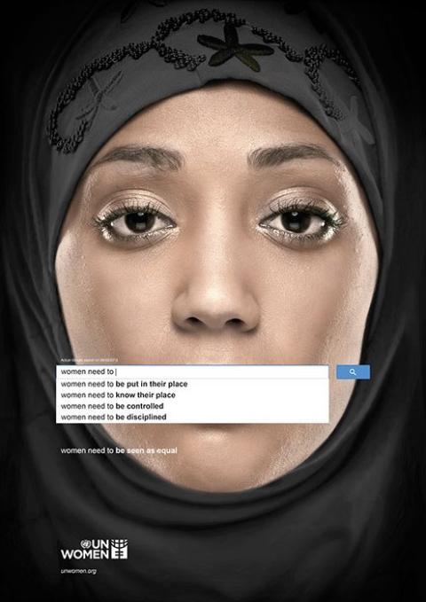 Campaña publicitaria de la ONU denuncia sexismo en el Google