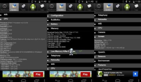 Características Nexus 5
