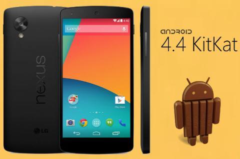 Nexus 5 y Android KitKat 4.4