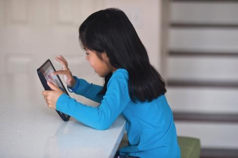 Noña usando iPad (Pete Ark, Getty Images)