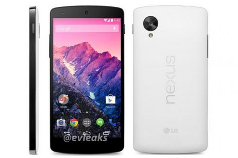 Nexus 5 blanco, lanzamiento el 1 de noviembre