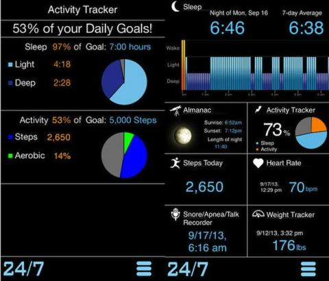 Motion app iOS 7