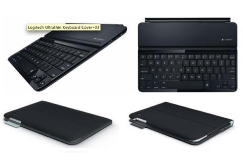 Logitech presenta nuevos teclados ultrafinos para iPad Air