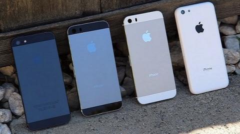 iPhone 5S y 5C suponen el 5,5 % de iPhones activos