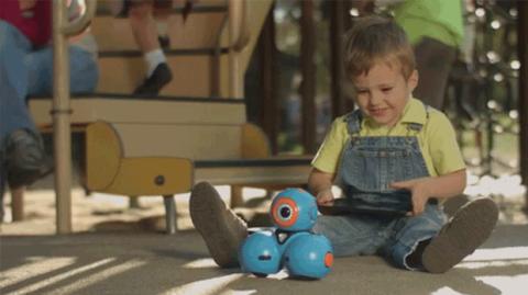 Robots y niños