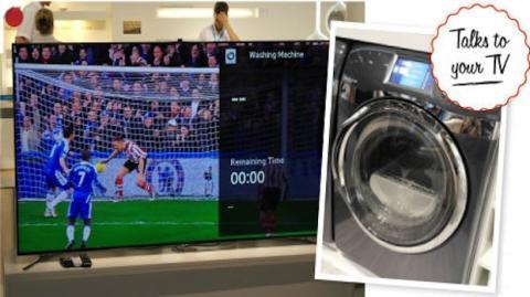 Tu lavadora podrá comunicarse con tu Smart TV de Samsung