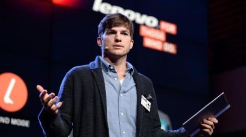 Ashton Kutcher será el nuevo ingeniero de producto de Lenovo