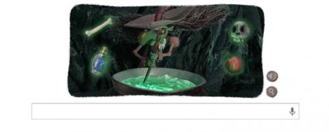 Google Halloween 2
