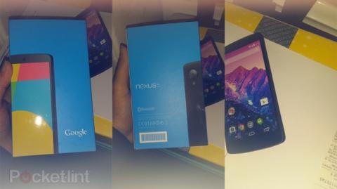 Primeras unidades de Nexus 5 llegan a Carphone Warehouse