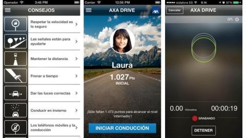 Axa Drive, la app que mejora tu conducción