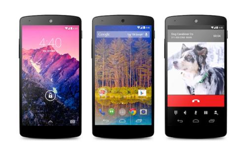 Android KitKat 4.4 Nexus 5