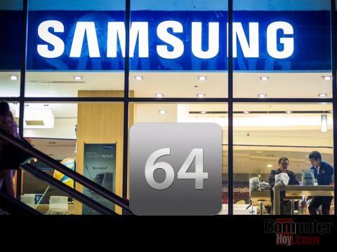 Procesadores Samsung de 64 bits