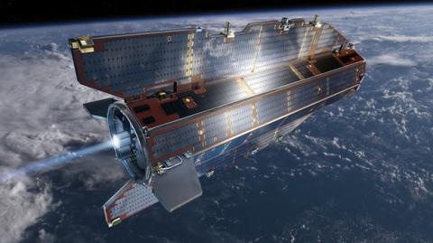 El satélite GOCE, a punto de impactar con la Tierra