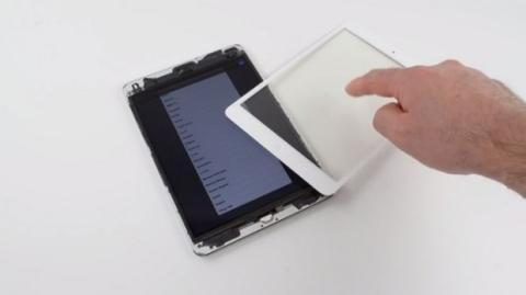 Pantalla iPad Mini. Foto: iFixit