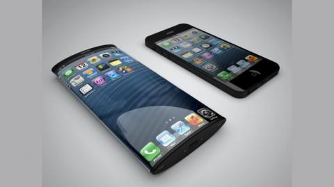 ¿iPhone 6 con pantalla curvada de 6 pulgadas en 2014?