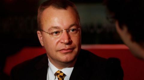 Stephen Elop, CEO de Nokia. Foto: Wikipedia