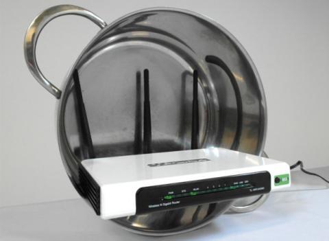 Amplificar wifi con una olla