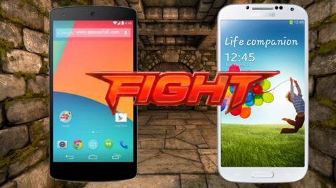 Nexus 5 contra Galaxy S4: ¿Qué smartphone es mejor?