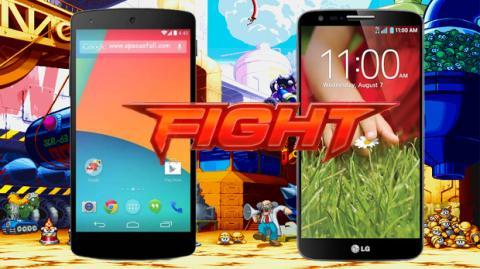 Nexus 5 contra LG G2: ¿Qué smartphone es mejor?